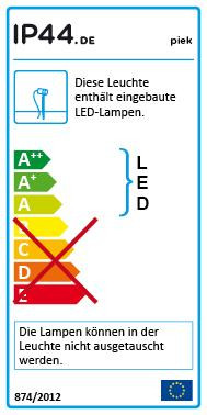 IP44.DE Piek 50 EU energy label