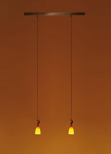 K-meral Cecil pendant lamp 2-light with TIWI