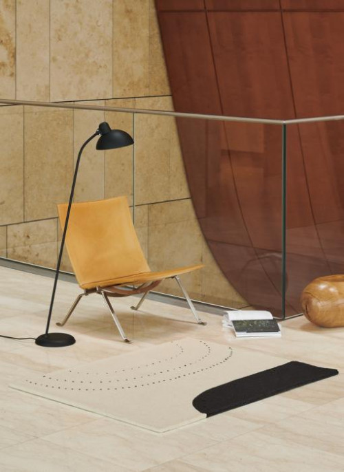 Kaiser Idell 6556-F Super Floor lamp matt black