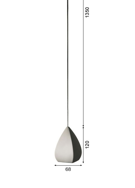 K-meral Ann pendant lamp 1-light graphic