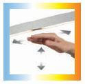 Knapstein SARA-40 gesture control incl. adjustment of the light colour