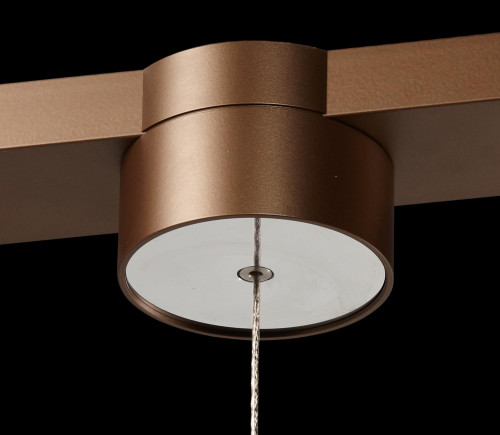 LDM Drop Move Trio Surface-mounted bronze canopy