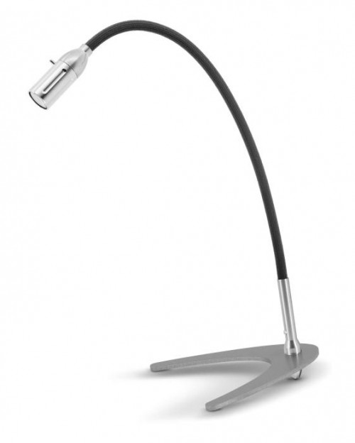 Less'n'more Zeus Table Light Z-TL aluminum, flex arm textile anthracite