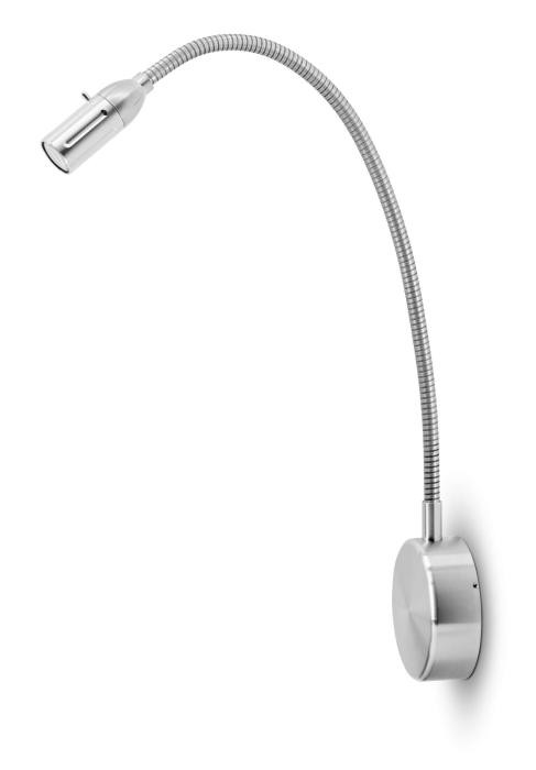 Less'n'more Zeus Wall Light Z-BWL2 aluminum, flex arm aluminum