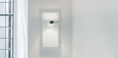 Licht im Raum Ocular Wall Lamp Glass Low-voltage white