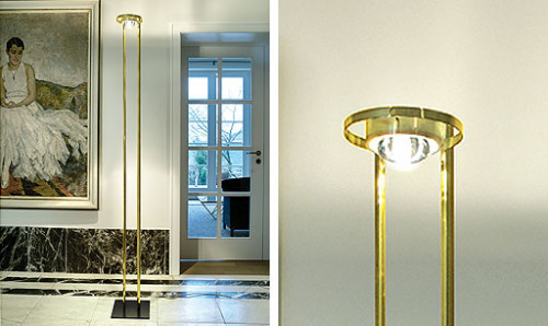Licht im Raum Master Low-Voltage pure brass