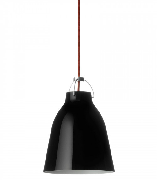 Lightyears Caravaggio P1 black glossy with red cable