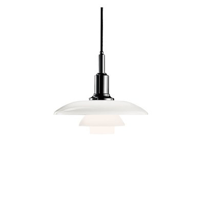 Louis Poulsen PH 3/2 Pendant Lamp high gloss chromed