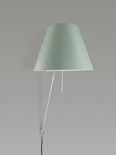 Luceplan Costanza Wall Telescopic comfort green