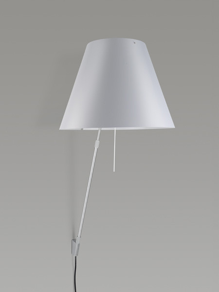 Luceplan Costanza Wall Telescopic mistic white