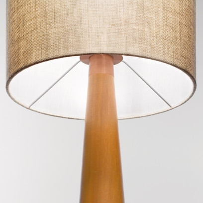 Lumini Baju Lampshade and wooden body