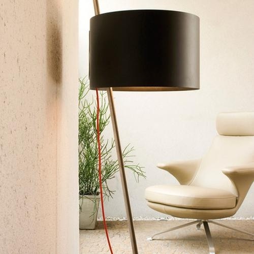 Lumini Lift shade black, cable red