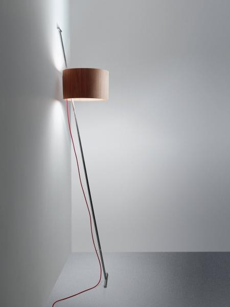 Lumini Lift shade wood, cable red