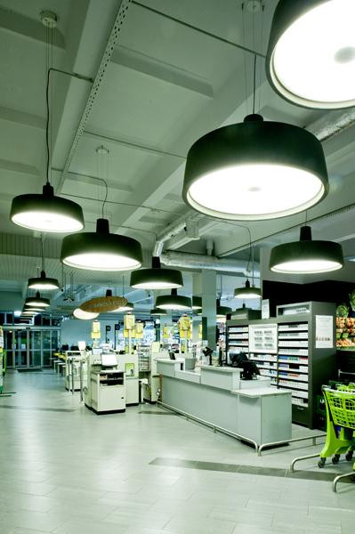 Marset Soho 57 LED black (at the left)