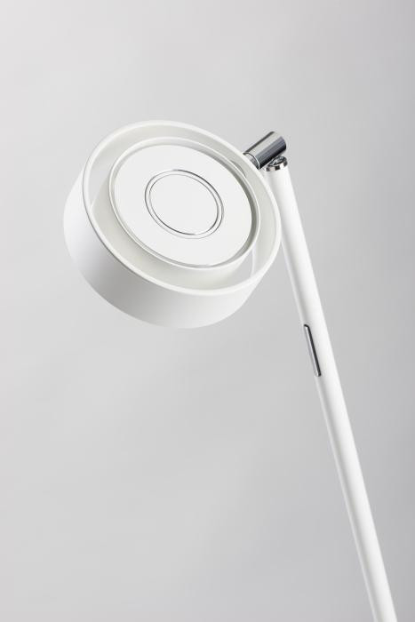 Mawa Pure mini table lamp LED lamp head white (from above)