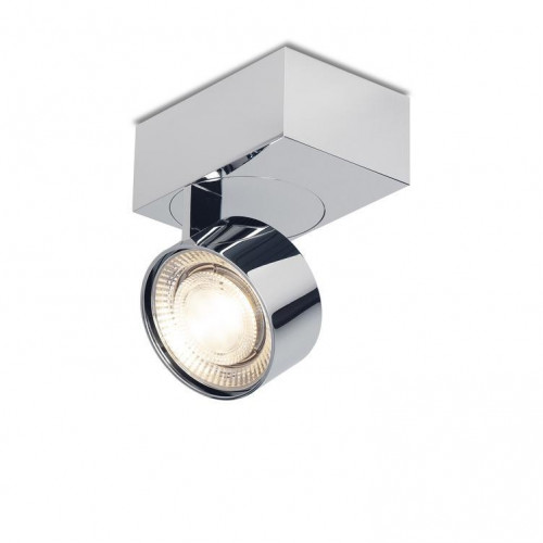Mawa Wittenberg 4.0 ceiling lamp asymmetric LED version 6, chrome with head chrome