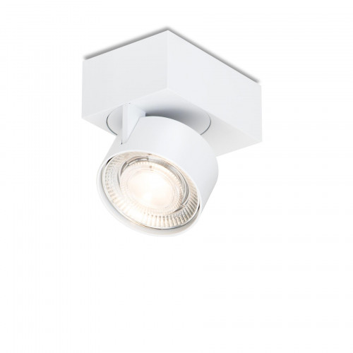 Mawa Wittenberg 4.0 ceiling lamp asymmetric LED version 1, white with head white