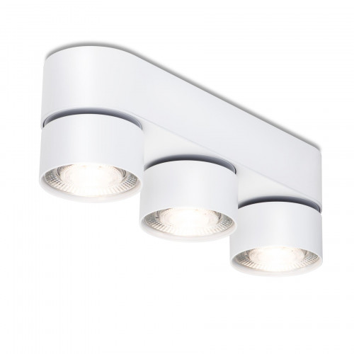 Mawa Wittenberg 4.0 ceiling lamp oval 3-lights LED white