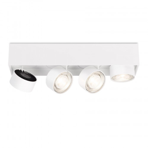 Mawa Wittenberg 4.0 ceiling lamp semi-flush 4-lights LED white