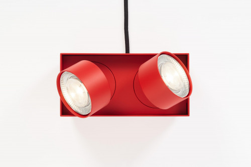 Mawa Wittenberg 4.0 Parquet floor lamp LED red