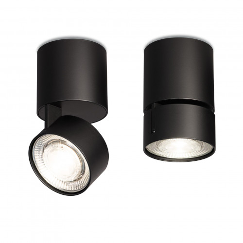 Mawa Wittenberg 4.0 Telescope ceiling lamp LED black