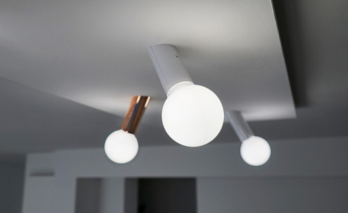 Next DNA wall-ceiling easy copper and white
