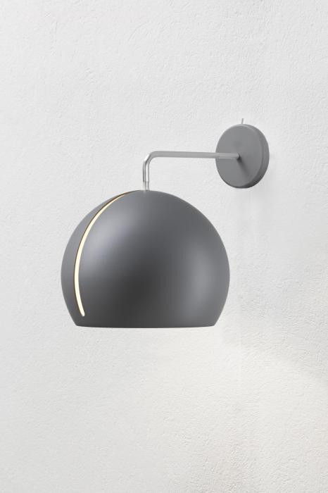 Nyta Tilt Globe Wall without cable grey
