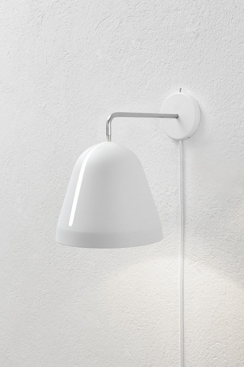 Nyta Tilt Wall white with cable white