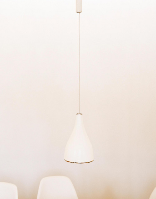 Serien Lighting One Eighty Suspension white with canopy