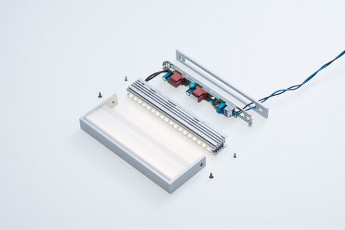 cover plate for SML LED Large silver