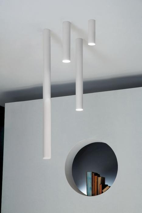 Studio Italia Design A-Tube Large, Small, Medium and Mini Ceiling white