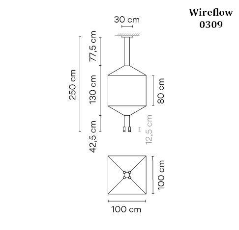 Vibia Wireflow 0309 graphic