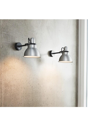 Anglepoise Type 1228 Metallic Wall Light silver