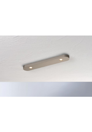 Bopp Close rectangular 2-lights aluminium