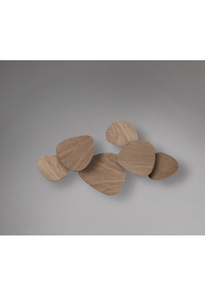 Bover Tria Set 6 natural oak