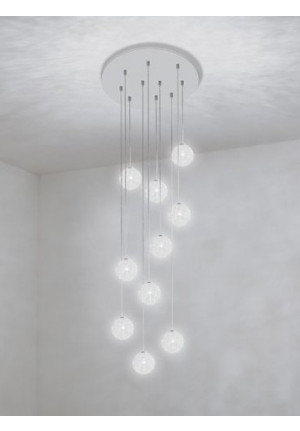 Catellani & Smith Sweet Light Chandelier with 10 lights