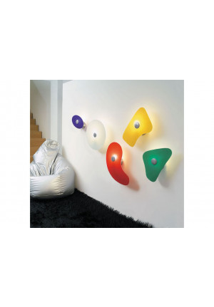 Foscarini Bit 5 white and orange