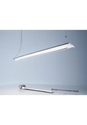 Ingo Maurer Blow Me Up by canopy 180 cm silver