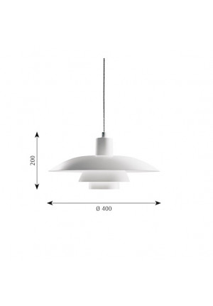 Louis Poulsen PH 4/3 pendant lamp spare part