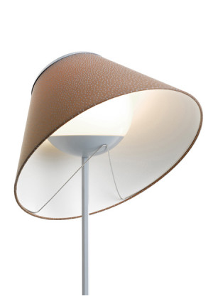 Luceplan Cappuccina Floor shade brown/pluie
