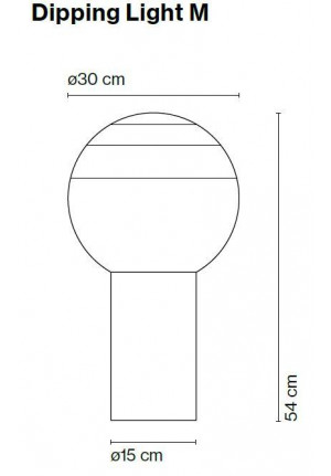 Marset Dipping Light M spare part
