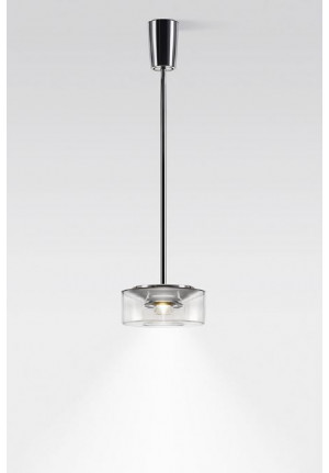 Serien Lighting Curling Suspension Tube Acryl clear S
