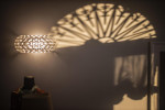 Foscarini Caboche Plus Parete Media transparent