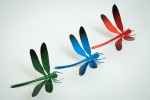 Ingo Maurer I Ricchi Poveri Bzzzz dragon-fly green, blue and red