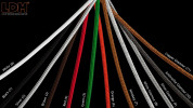 LDM Drop Quattro Surface-mounted available cable colours