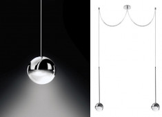 Convivio pendant lamp 2-lights