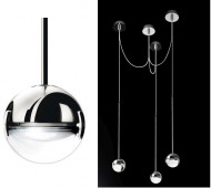 Convivio pendant lamp 3-lights LED
