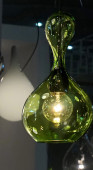 Blubb 1 Pendant green black