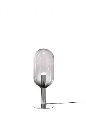 Bomma Phenomena Floor Capsule nickel, glass colour smoke