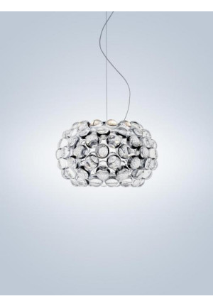 Foscarini Caboche Plus Sospensione Piccola transparent
